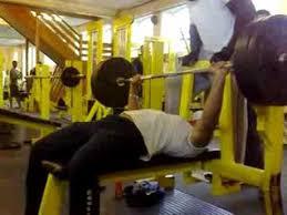Evander Holyfield Bench Press Tyson Bench Press 140kg 6 Reps Youtube