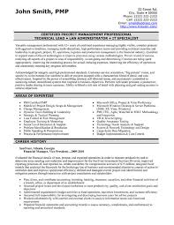 Pmp Resume Sample by Valuable Idea Finance Resume Template 14 Top Templates Samples