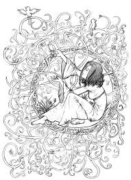 artistic coloring pages funycoloring