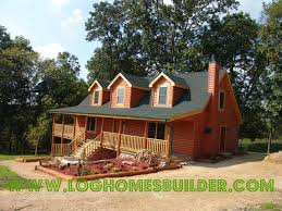 Two Story Log Homes by Modular Homes Illinois Photos