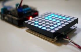 serial 8 8 rgb led matrix module for arduino arduinodev com
