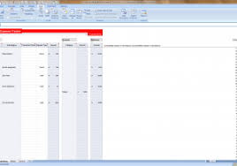 budget bills template budget bills template and 40 expense report templates to help you