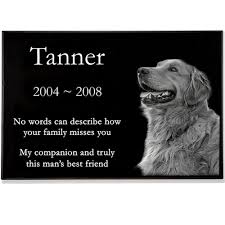 dog grave markers granite photo pet grave marker 1 thick
