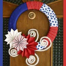 4th of july wreaths 10 gorgeous 4th of july wreaths