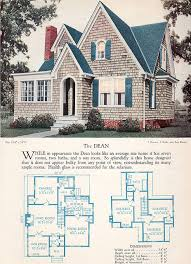 Vintage Home Design Plans 1928 Home Builders Catalog The Dean Vintage House Plans House