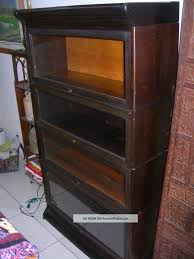 Bookshelves With Glass Doors For Sale by Barrister Bookcase With Glass Doors