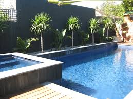 perfect modern pool designs and landscaping of outdoor area design