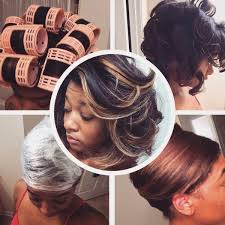 roller wrap hairstyle jaime renee s natural hair hooded dryer roller set saran wrap