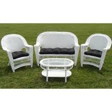 White Resin Patio Table Inspiring White Resin Patio Chairs And Plastic Patio Table 5 Pc