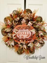 fall wreath harvest wreath thanksgiving wreath thanksgiving