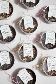 tea favors learn how to make these tea wedding favors