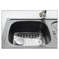 protege evier cuisine tapis fond évier kristall 31 cm egouttoir à vaisselle