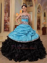 and black quinceanera dresses blue sweetheart new arrival black quinceanera dress with zebra