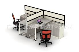 Office Desk Wholesale Office Furniture Computer Desk Staff Partition Wall Niche That