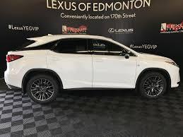 suv lexus white new 2017 lexus rx 350 4 door sport utility in edmonton ab l14105