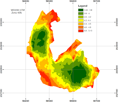 Utm Zone Map Image Processing Extract Bathymetry Data From A Map