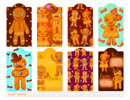 printable gingerbread man gift tags gingerbread man gift tags free printable gift tag templates