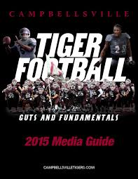 2015 campbellsville university football media guide by