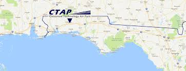 Apalachicola Florida Map by Crestview Technology Air Park Ctap In Okaloosa County Promotes