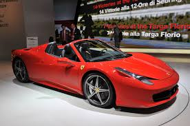 what is the price of a 458 italia announces price of the 458 italia spider automotorblog