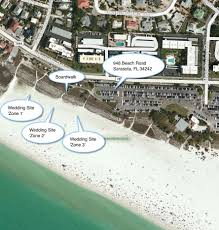 Clearwater Beach Florida Map by A Florida Beach Wedding