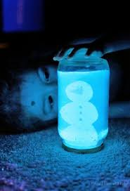 diy glowing snow globe quick winter craft globe snow and winter