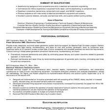 Maintenance Technician Resume Maintenance Technician Sample Resume