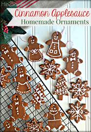 homemade cinnamon applesauce ornaments fun u0026 easy holiday craft