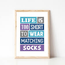 funny home decor funny quote life is too short typography poster home decor