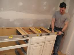 Kitchen Cabinet Installation Tools by Unfinished Bathroom Vanities And Cabinets Hgtv