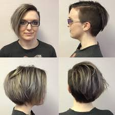 long choppy haircuts with side shaved 50 wonderful short long asymmetrical bob hairstyles