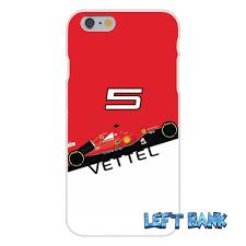 cartoon ferrari sebastian vettel scuderia ferrari silicon soft phone case for