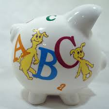 customized piggy bank personalized piggy bank for kids abc dr seuss nanycrafts