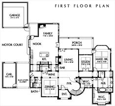 european style house plan 4 beds 5 5 baths 5900 sq ft plan 449