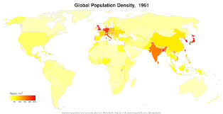 Population World Map by Plots And Maps U2013 N U003d30
