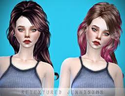 sims 4 blue hair 731 best sims 4 hairstyles images on pinterest hair dos sims hair