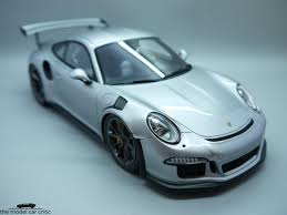 porsche model car 1 18 spark porsche 911 991 gt3 rs review the model car critic