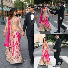 indian wedding dresses chic two pieces indian wedding dresses appliqued v neckline
