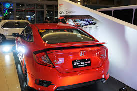 honda cars philippines top 15 cars at the philippine international motor show 2016