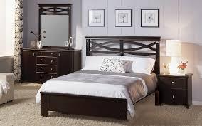 Black King Bedroom Furniture Bedroom Elegant Interior Bedroomating With Black Wooden Bedframe