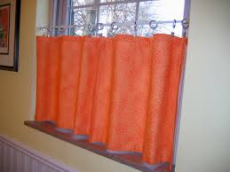Small Window Curtain Decorating Accessories Enchanting Picture Of Small Light Orange Plain Mid