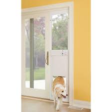 Patio Door Cat Flap by Dog Doors Petsafe Deluxe Patio Panels Inside Dog Door For Sliding