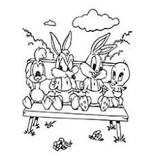 25 free printable looney tunes coloring pages