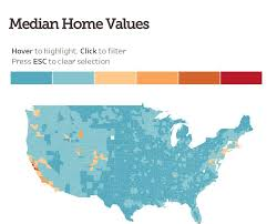 county median home prices