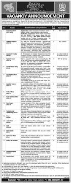 journalists jobs in pakistan airport security punjab journalist housing foundation pjhf lahore jobs 2017