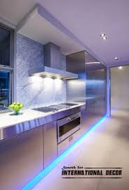 elegant kitchen led light fixtures about home design inspiration