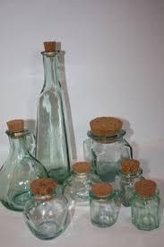 Bathroom Glass Storage Jars Glass Jar With Cork Lid Pinterest Cork Glass And