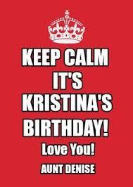 Keep Calm Meme Creator - pin by arlene cammarata on birthday pinterest birthdays