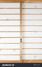 texture japanese sliding paper door shoji stock photo 126845090