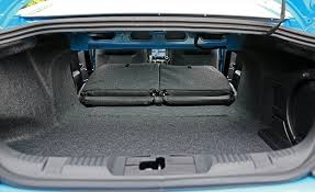 mustang trunk space 2017 ford mustang in depth model review car and driver